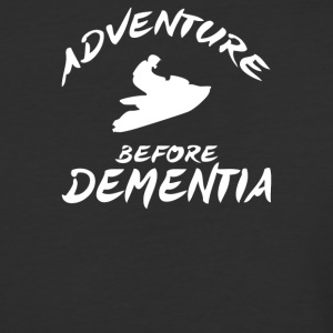 Adventure Before Dementia Jet Ski - Baseball T-Shirt