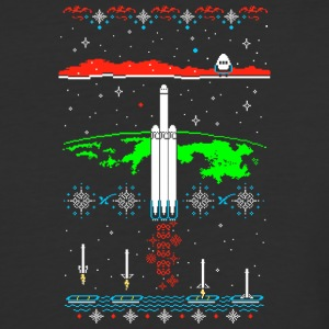 Space X-mas - Baseball T-Shirt