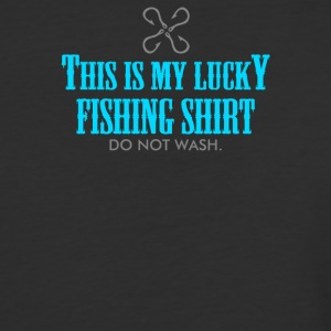 Lucky Fishing - Baseball T-Shirt