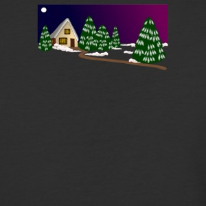 Christmas Nature Photo - Baseball T-Shirt