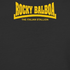 Rocky Balboa The Italian Stallion - Baseball T-Shirt