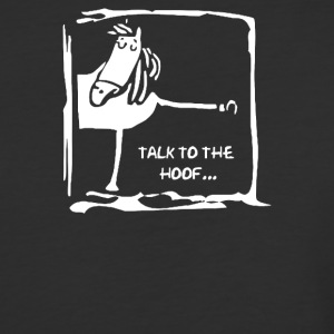 Talk To The Hoof - Baseball T-Shirt