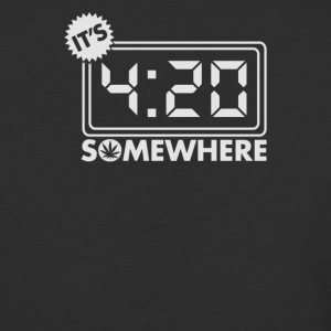 Somewhere O'clock - Baseball T-Shirt
