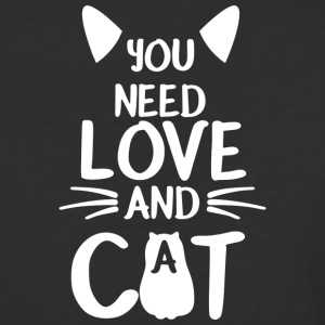 Love Cat Gift Wife - Baseball T-Shirt