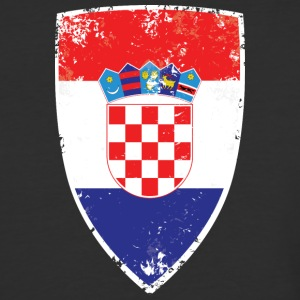 Flag of Croatia - Baseball T-Shirt