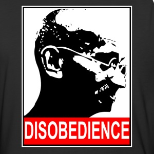 Mahatma Gandhi Civil Disobedience - Baseball T-Shirt