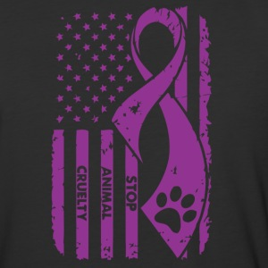 Animal Cruelty Awareness! - Baseball T-Shirt