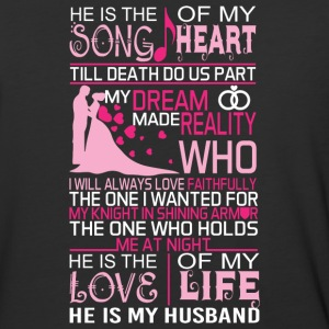He Is My Husband T Shirt - Baseball T-Shirt