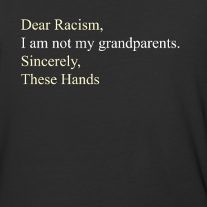 Dear Racism - Baseball T-Shirt