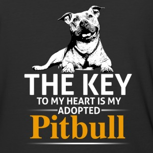 This Girl Loves Her Pit Bull - Baseball T-Shirt