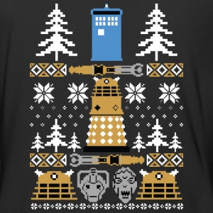 Doctor Who Ugly Sweater T-Shirt - Baseball T-Shirt