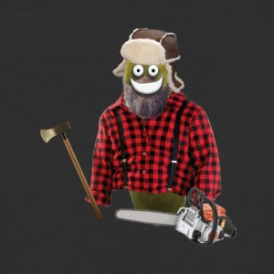 Lumberjack Pickle - Baseball T-Shirt