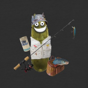 Fishing Pickle - Baseball T-Shirt