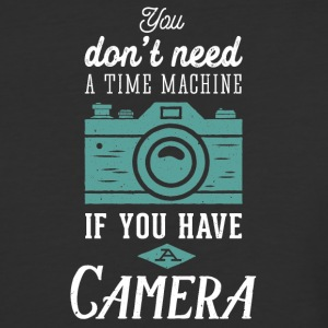 Camera - Time machine - Baseball T-Shirt