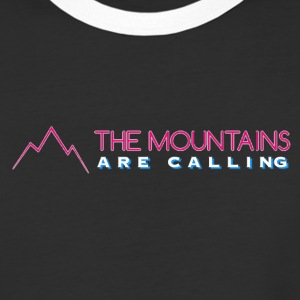 MOUNTAINS ARE CALLING - Baseball T-Shirt