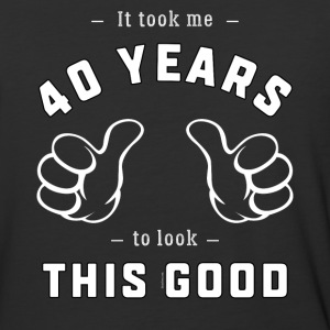 40th Birthday Gift: It Took Me 40 Years To ...Good - Baseball T-Shirt