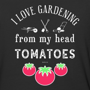 I Love Gardening T-Shirt for Gardener and Nature - Baseball T-Shirt