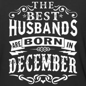 The best husbands are born in December - Baseball T-Shirt