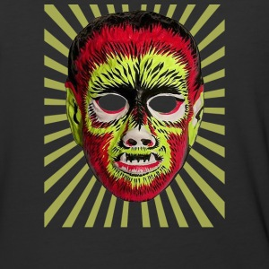 Wolfman Mask - Baseball T-Shirt
