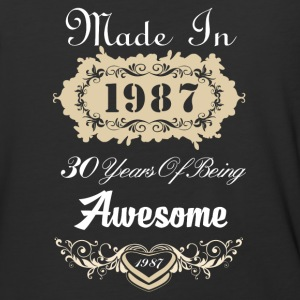 Made in 1987 30 years of being awesome - Baseball T-Shirt