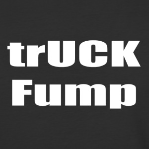 trUCK Fump (white text) - Baseball T-Shirt