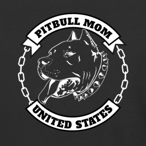 Pitbull Mom - Baseball T-Shirt