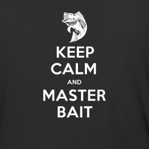 Keep Calm And Master Bait - Baseball T-Shirt
