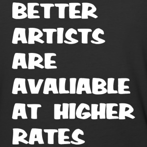 Freelance Artist Advertising - Baseball T-Shirt