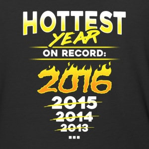 Earth Day - Science March - Hottest Year On Record - Baseball T-Shirt