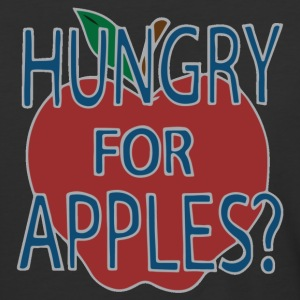 Hungry For Apples by Jerry Smith (Alt) - Baseball T-Shirt
