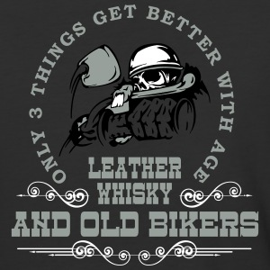 Old Bikers Get Better With Age - Baseball T-Shirt