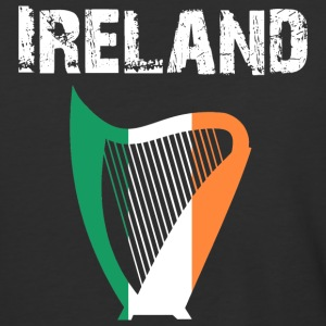 Nation-Design Ireland Harp - Baseball T-Shirt
