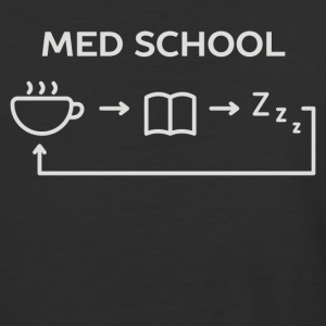Life Of A Medical School Student - Baseball T-Shirt