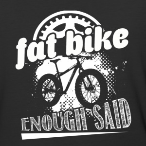 FAT BIKE SHIRT - Baseball T-Shirt