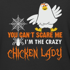 I'm the crazy Chicken Lady shirt - Baseball T-Shirt