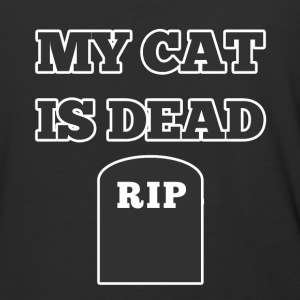 My Cat is Dead RIP - Baseball T-Shirt