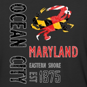 Ocean City Maryland Crab - Baseball T-Shirt