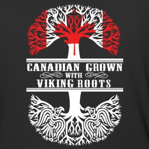 Canadian grown with viking roots - Baseball T-Shirt
