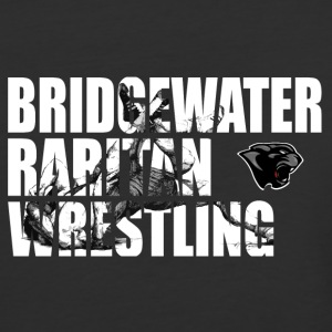 BR Panther Wrestling Cut-Out - Baseball T-Shirt