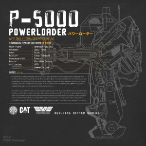 P-5000 Powerloader - Baseball T-Shirt