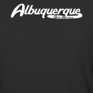 Albuquerque New Mexico Vintage Logo - Baseball T-Shirt