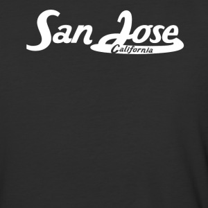 San Jose California Vintage Logo - Baseball T-Shirt