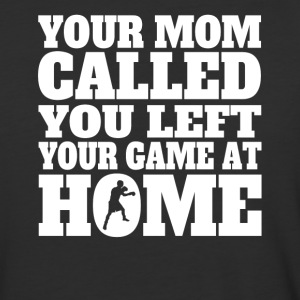 You Left Your Game At Home Funny Boxing - Baseball T-Shirt