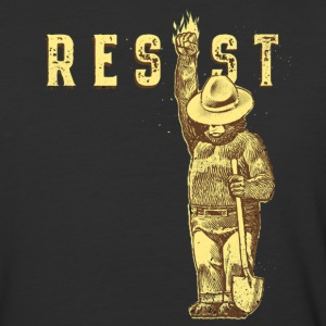 Smokey say RESIST - Baseball T-Shirt