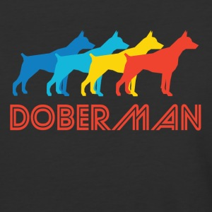 Doberman Pop Art - Baseball T-Shirt