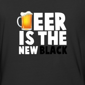 Beer Is The New Black - Baseball T-Shirt