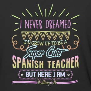 Super Cute Spanish Teacher Shirts - Baseball T-Shirt