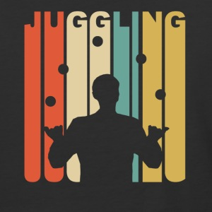 Vintage Juggling Graphic - Baseball T-Shirt