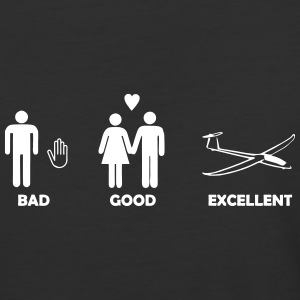 bad good excellent soaring - Baseball T-Shirt