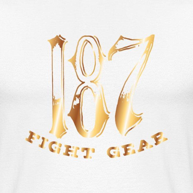 187 Fight Gear Gold Logo Sports Gear